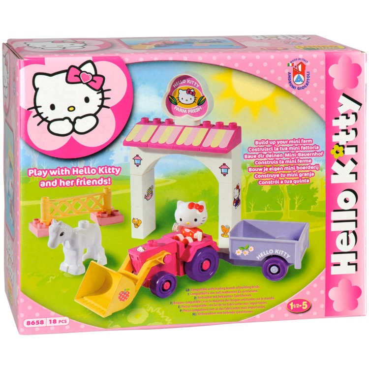 Androni Unico Plus Hello Kitty tractor, 18dlg.