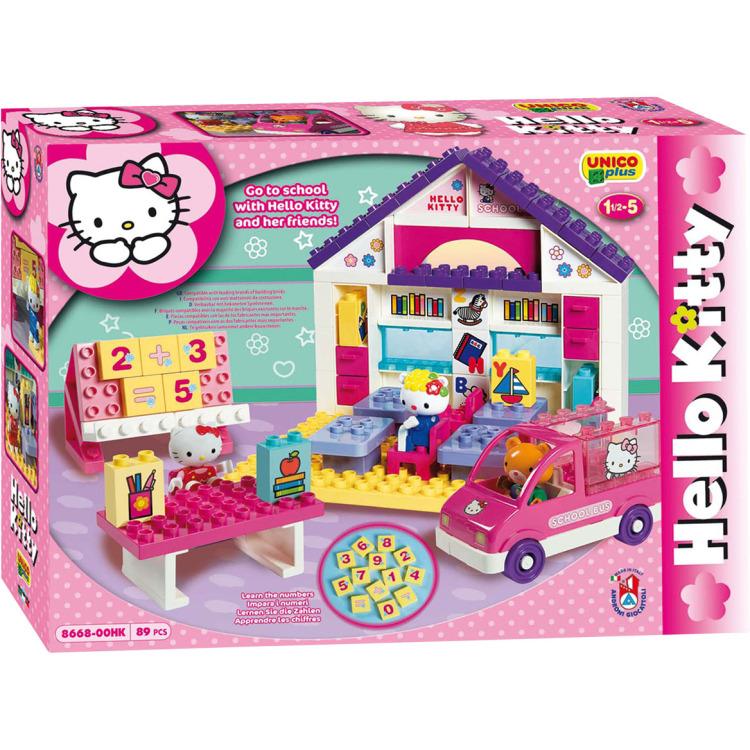 Hello Kitty Bouwset School