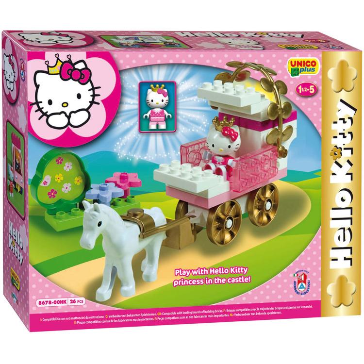 Androni Unico Plus Hello Kitty koets, 26dlg.