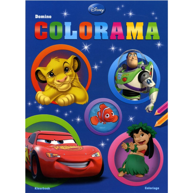 Image of Disney Domino Colorama Filmfiguren