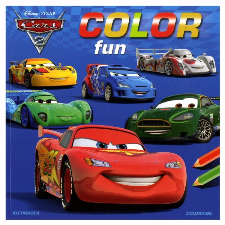 Image of Cars 2 Color Fun