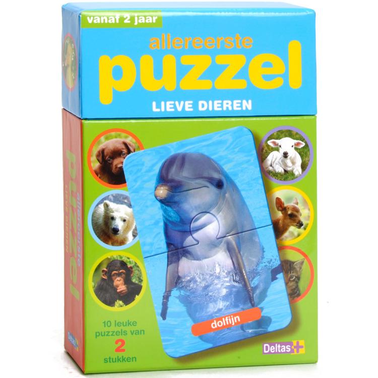 Image of Allereerste Puzzel - Lieve Dieren