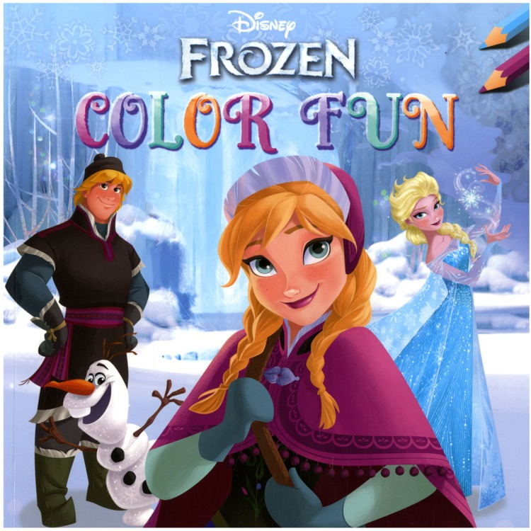 Image of Disney Frozen Color Fun