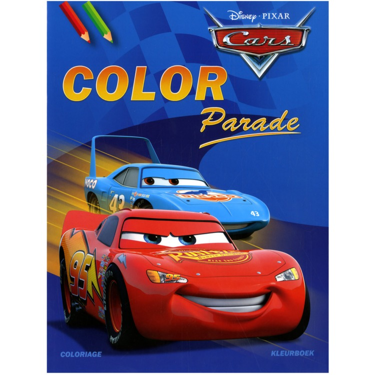 Image of Disney Cars Color Parade