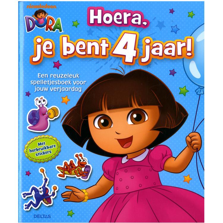 Image of Dora - Hoera, Je Bent 4 Jaar!