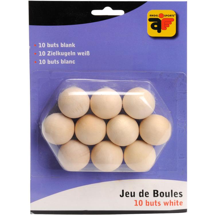Image of Angel Sports Houten Jeu De Boules Buts, 10 Stuks