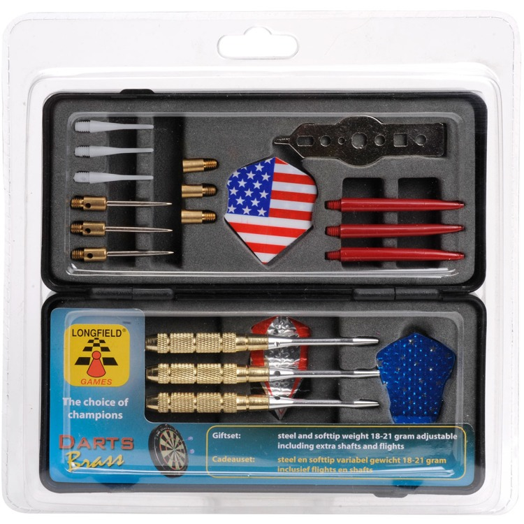 Image of Darts Cadeauset Brass