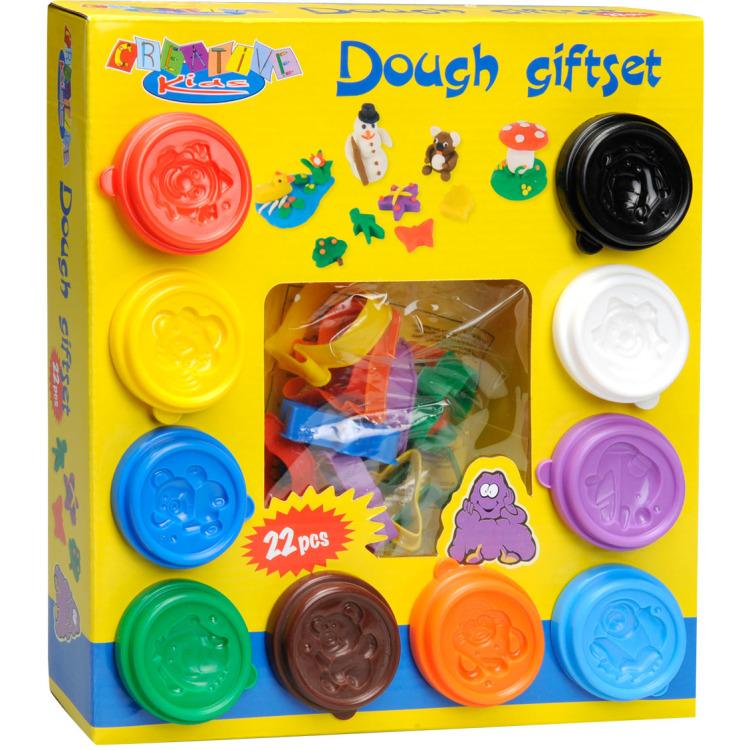 Image of Dough Giftset Kleiset, 22-delig