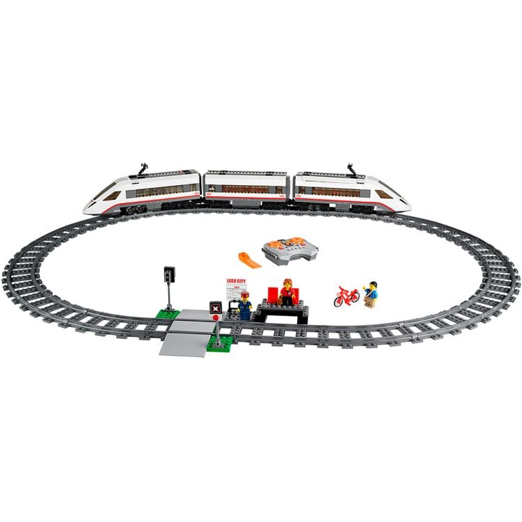 LEGO CITY® Hogesnelheidstrein 60051