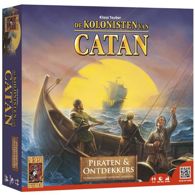 Image of 999 Games Uitbreidingsset Kolonisten Van Catan: Piraten & Ontdekkers