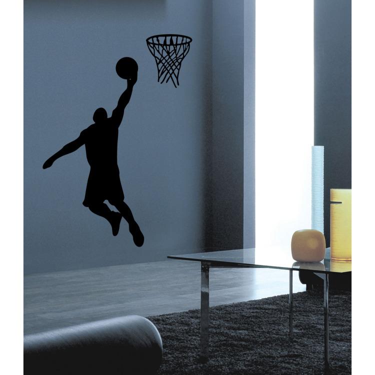 Image of Basketballer Muursticker
