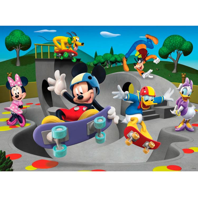 Ravensburger XXL puzzel Mickey Mouse Clubhouse 100 stukjes