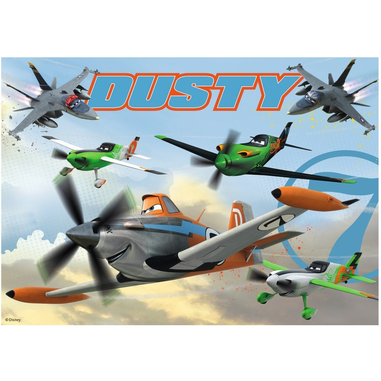 Ravensburger Disney Planes Dappere Dusty - Vloerpuzzel