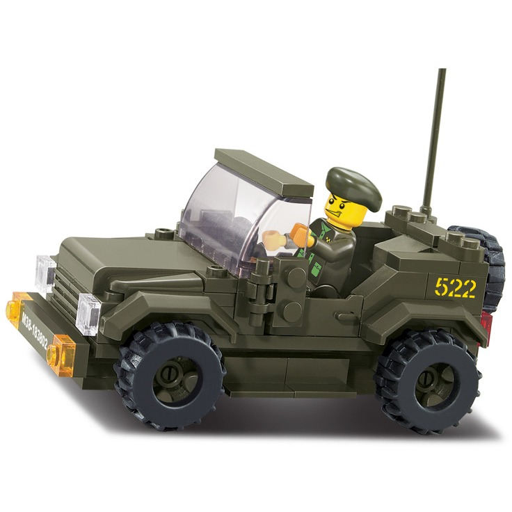Image of Army Jeep (M38-B0296)