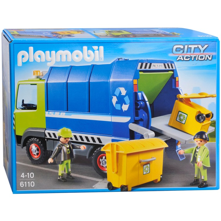 Playmobil vuilniswagen