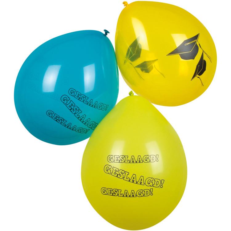 Image of Ballonnen Geslaagd, 6st.