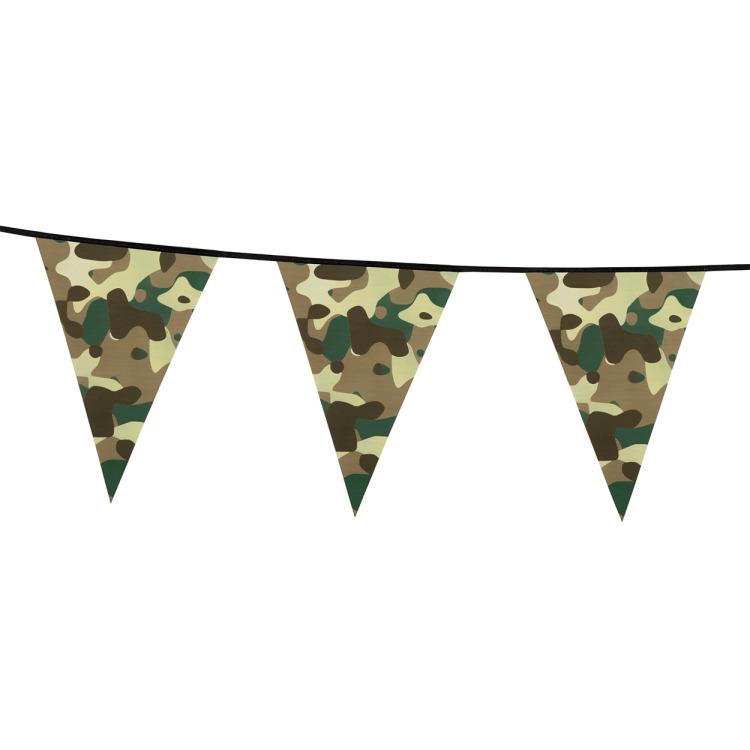 Image of Camouflage Vlaggenlijn, 6mtr.