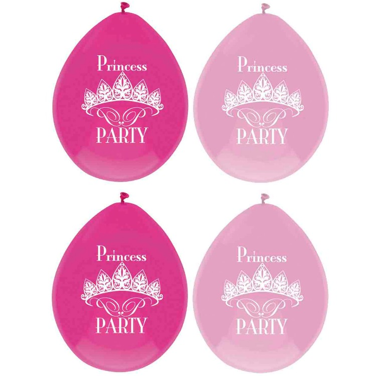 Image of Princess Party Ballonnen, 6 Stuks