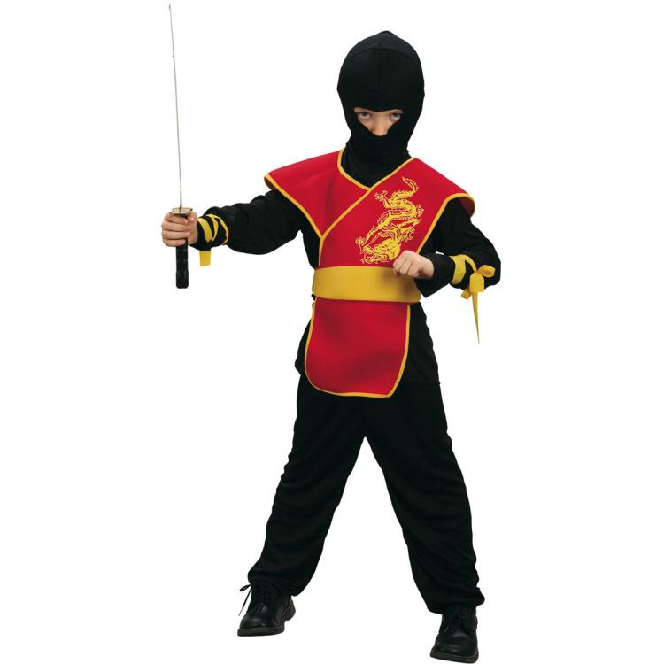 Kinderkostuum Ninja meester 4-6 jaar