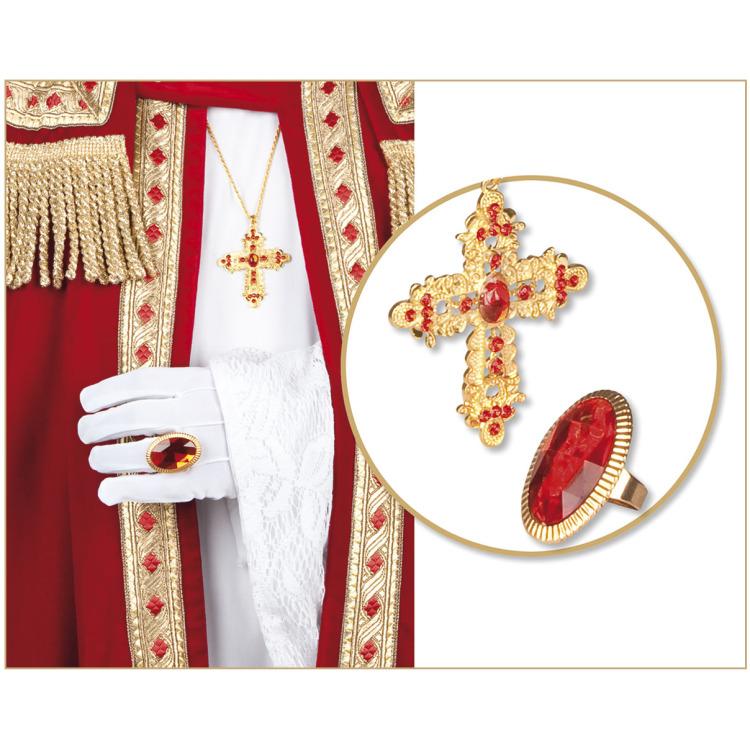 Set Ring en ketting Sinterklaas