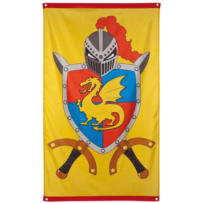 Gevel vlag ridders & draken