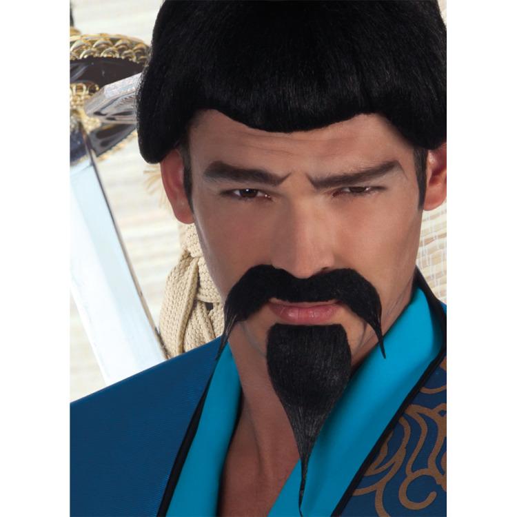 Snor en baard Samurai