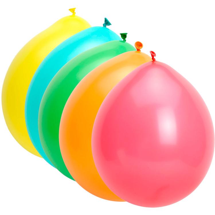 Image of Ballonnen Gekleurd, 10 Stuks
