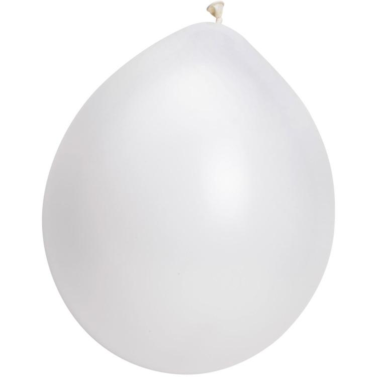 Image of Ballonnen Wit, 10 Stuks
