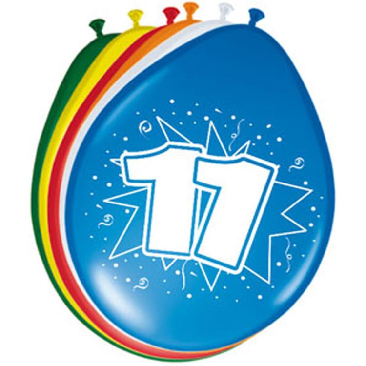 Image of 11 Jaar Ballonnen, 8 Stuks
