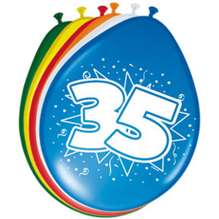 Ballonnen 35 Jaar, 8st.