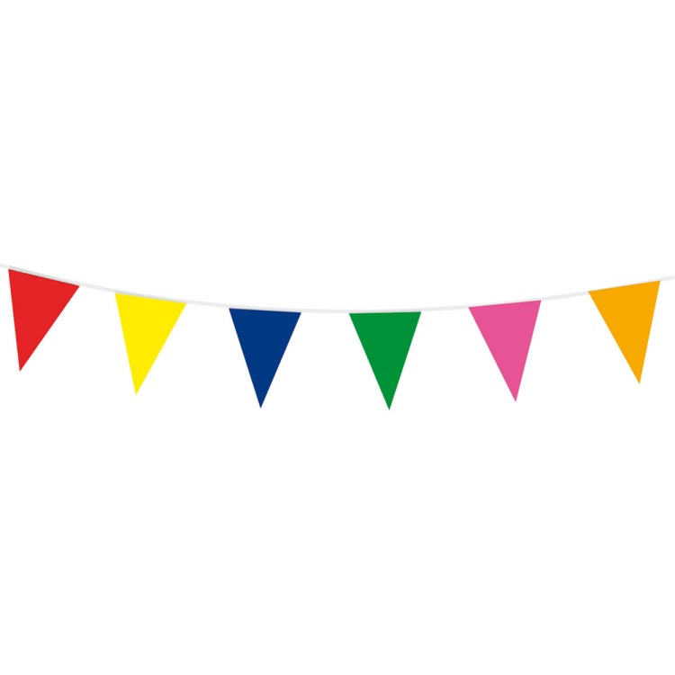 Image of Gekleurde Vlaggenlijn, 10mtr.