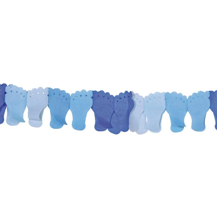 Image of Voeten Slinger Blauw, 6 M