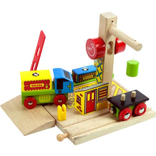Image of Houten Rails - Container Overslaghaven, 6-delig