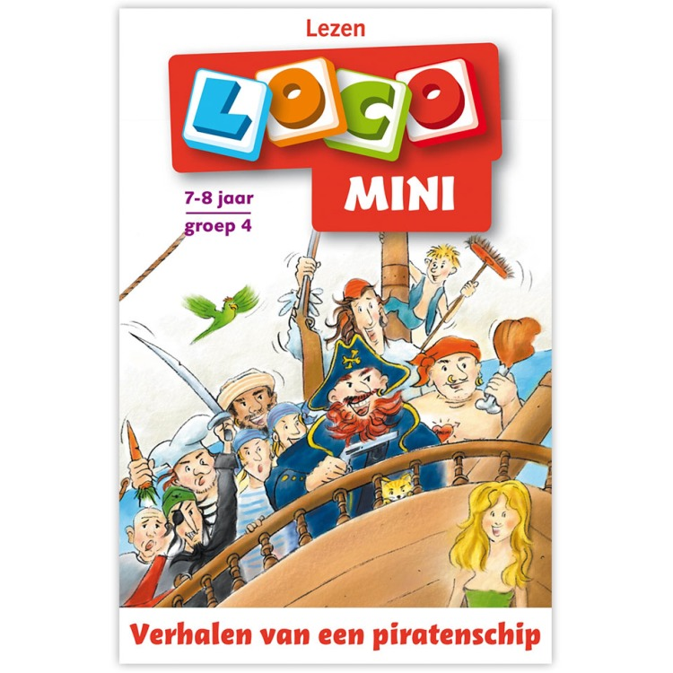 Mini Loco / groep 4 / deel Begrijpend lezen