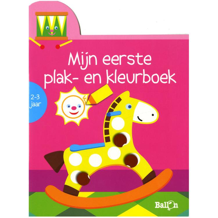 Image of Mijn Eerste Plak- En Kleurboek Hobbelpaard (2-3 Jaar)
