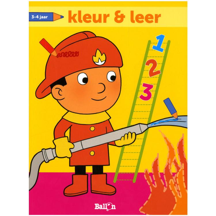 Image of Kleur En Leer Brandweerman