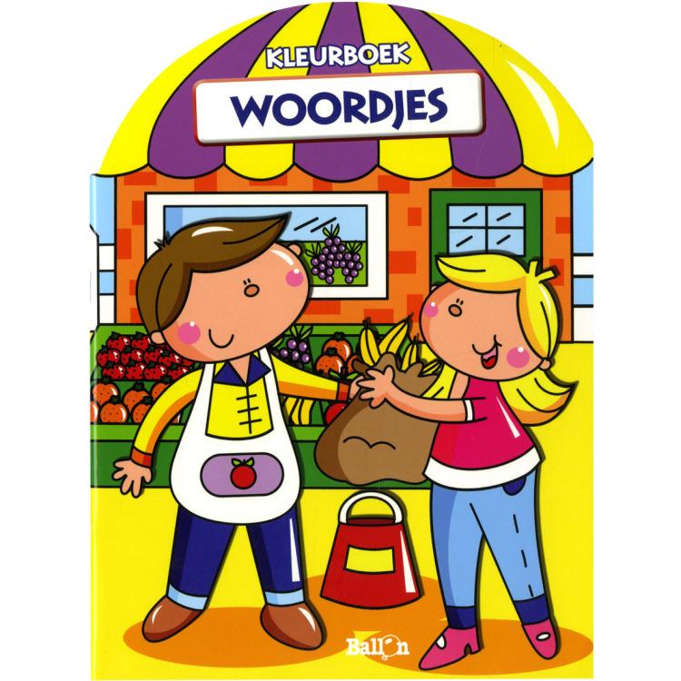 Image of Woordjes Kleurboek