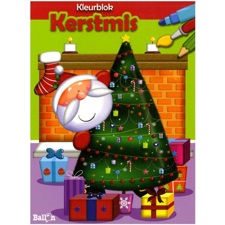 Image of Kleurblok Kerstmis