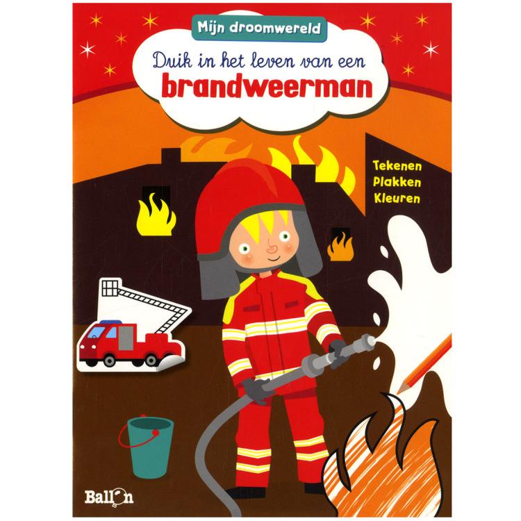 Image of Mijn Droomwereld - Duik In Het Leven Van Een Brandweerman