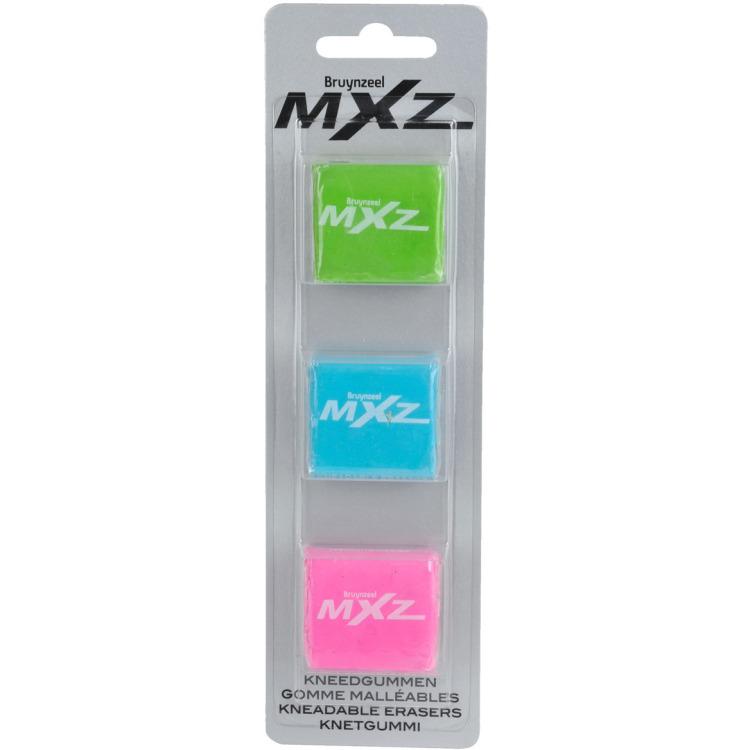 Image of MXz Blister Kneedgummen, 3 Stuks