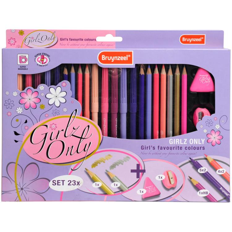 Image of Bruynzeel Sakura 7100K23 pen & pencil gift set