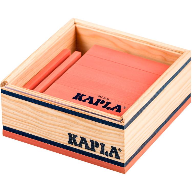 Image of Kapla, 40 Plankjes Roze