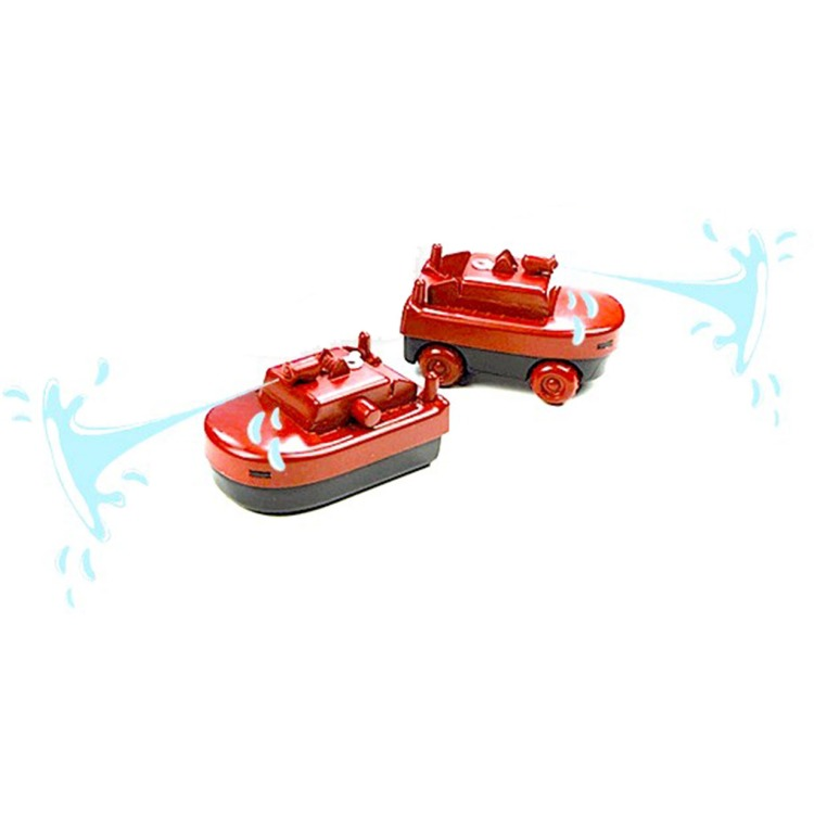 Image of AquaPlay 291 - Brandweerboot/Brandweerwagen
