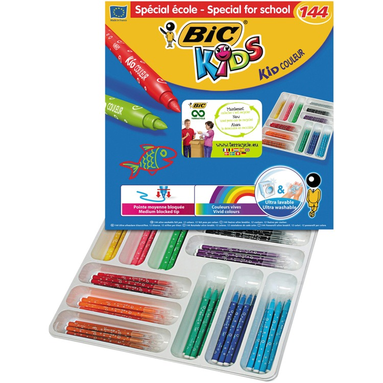 Image of BIC Kids Kid Couleur, 144st.