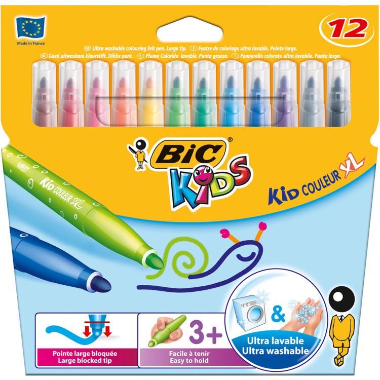 Image of Kid Couleur XL Viltstiften (12 Stuks)