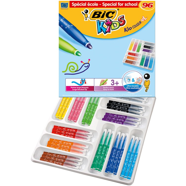 Image of BIC Kids Kid Couleur XL, 96st.