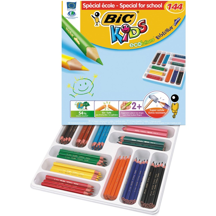 Image of BIC Kids ECOlutions Evolution Triangle, 144st.
