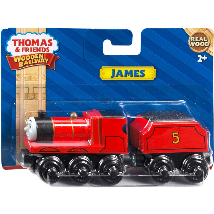 Thomas De Trein James Locomotief Hout