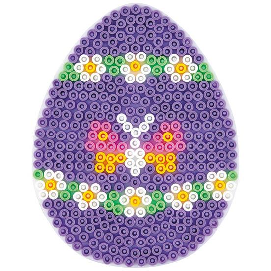 Strijkkralen Grondplaat Ei