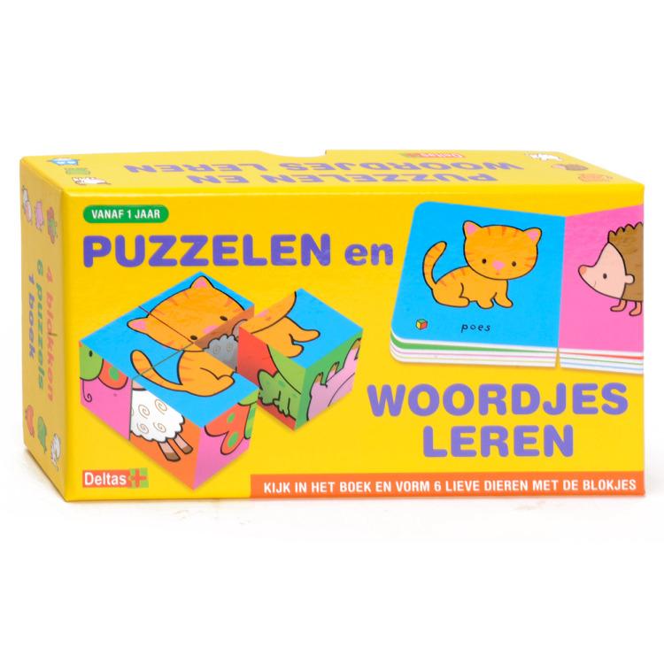 Image of Puzzelen En Woordjes Leren (vanaf 1 Jaar)
